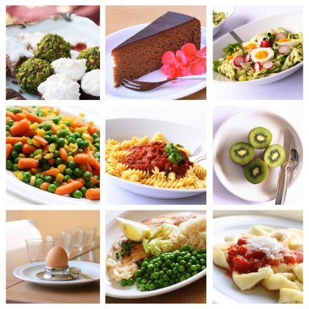 Aliments divers présentation