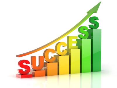 BUSINESS Success flèche