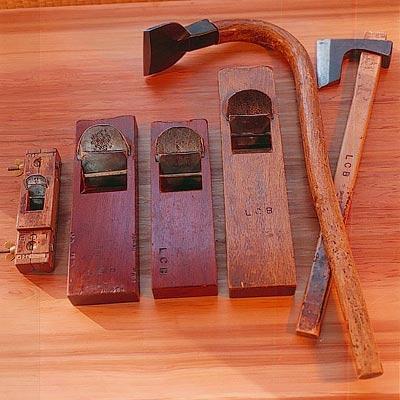 Charpente outils JAPON
