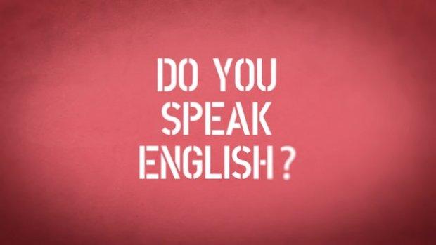 DO YOU SPEAK ENGLISH logo