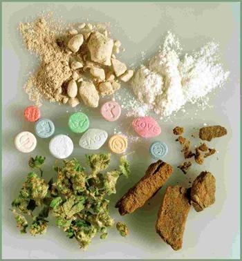 DROGUES diverses extasy