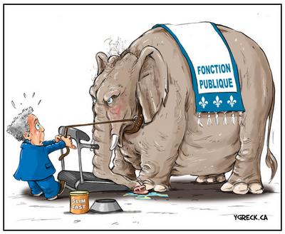 FONCTION PUBLIQUE Elephant humour