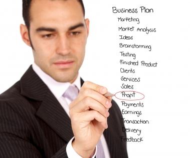 Homme et business plan