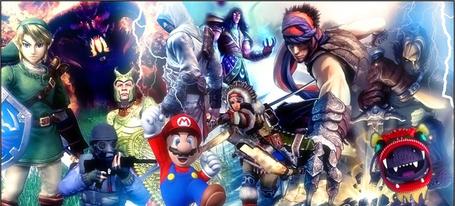 JEU VIDEO Mario animation