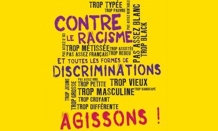 Logo CONTRE DISCRIMINATIONS