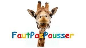 Logo FAUT PAS POUSSER image Girafe