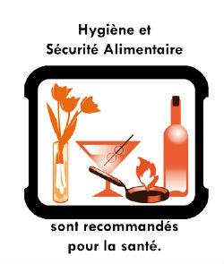 METIERS BOUCHE. SECURITE ALIMENTAIRE Logo