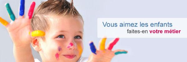 PETITE ENFANCE logo métiers