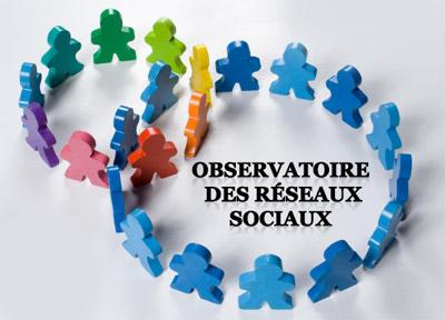 RESEAUX SOCIAUX Observatoire logo