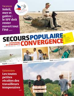 SAISONNIER Secours Populaire mag. Convergences