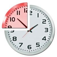 TEMPS PARTIEL horloge